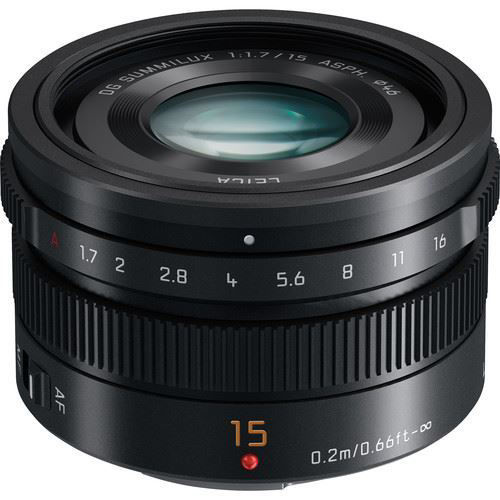 buy Panasonic Leica DG Summilux 15mm f/1.7 ASPH. Lens in India imastudent.com