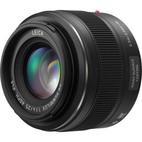 buy Panasonic Leica DG Summilux 25mm f/1.4 ASPH. Lens in India imastudent.com