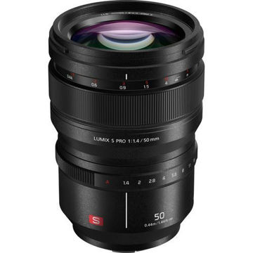buy Panasonic Lumix S PRO 50mm f/1.4 Lens in India imastudent.com