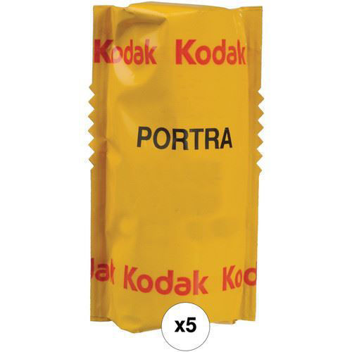 Kodak Professional Portra 160 Color Negative Film (120 Roll Film, 5-Pack) price in india features reviews specs