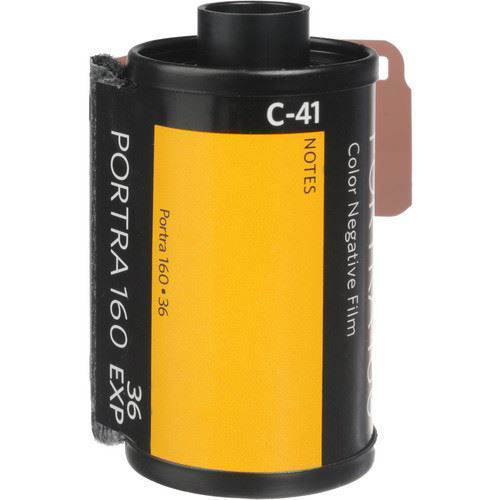 Kodak Professional Portra 160 Color Negative Film (35mm Roll Film, 36 Exposures, 5-Pack) price in india features reviews specs