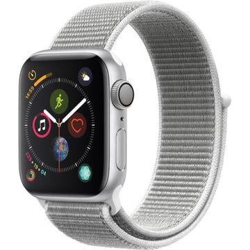 Apple Watch Series 4 (GPS Only, 40mm, Silver Aluminum, Seashell Sport Loop) price in india features reviews specs