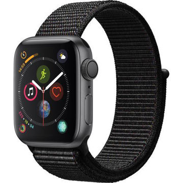 Apple Watch Series 4 (GPS Only, 40mm, Space Gray Aluminum, Black Sport Loop) price in india features reviews specs