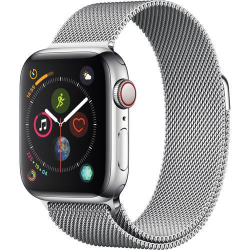 Apple Watch Series 4 (GPS + Cellular, 40mm, Stainless Steel, Milanese Loop) price in india features reviews specs