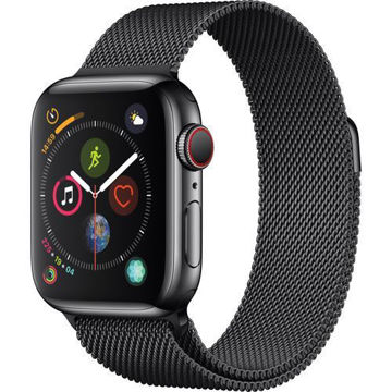 Apple Watch Series 4 (GPS + Cellular, 40mm, Space Black Stainless Steel, Space Black Milanese Loop) price in india features reviews specs