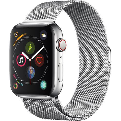 Apple Watch Series 4 (GPS + Cellular, 44mm, Stainless Steel, Milanese Loop) price in india features reviews specs