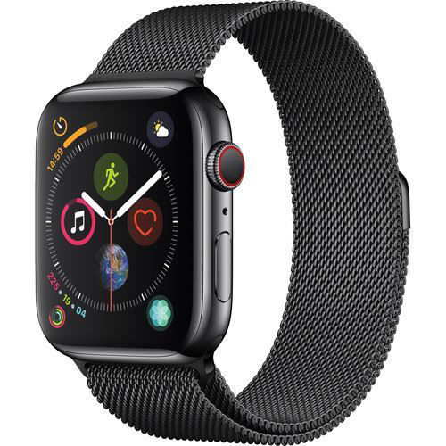 Apple Watch Series 4 (GPS + Cellular, 44mm, Space Black Stainless Steel, Space Black Milanese Loop) price in india features reviews specs