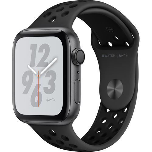 Apple Watch Series 4 (GPS Only, 44mm, Space Gray Aluminum, Anthracite/Black Nike Sport Band) price in india features reviews specs