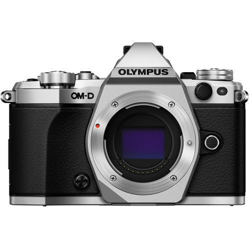 Olympus OM-D E-M5 Mark II Mirrorless Micro Four Thirds Digital Camera (Body, Silver) price in india features reviews specs