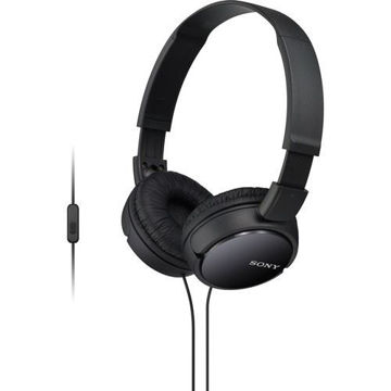 Sony MDR-ZX110AP Extra Bass Smartphone Headset (Black) price in india features reviews specs