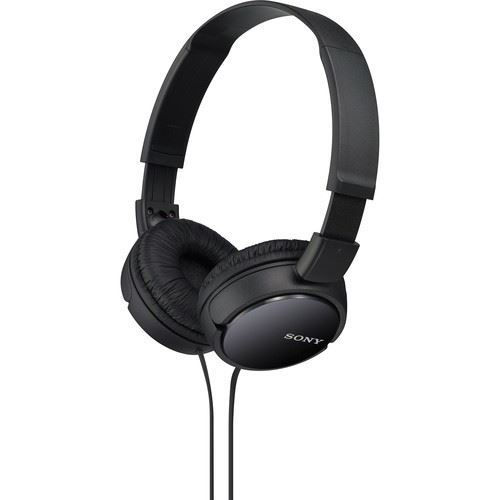 Sony MDR-ZX110 Stereo Headphones (Black) price in india features reviews specs