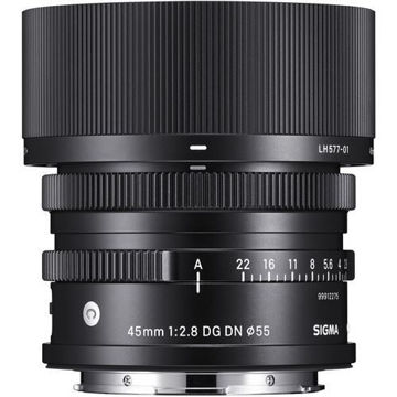 buy Sigma 45mm f/2.8 DG DN Contemporary Lens for Sony E in India imastudent.com
