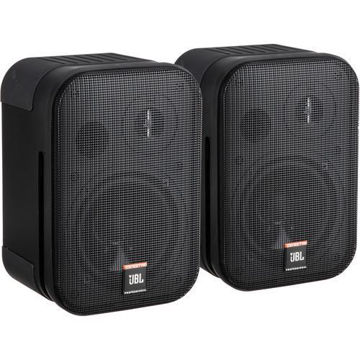 "JBL Control 1 Pro - 5"" Two-Way Professional Compact Loudspeaker (Pair, Black) price in india features reviews specs"