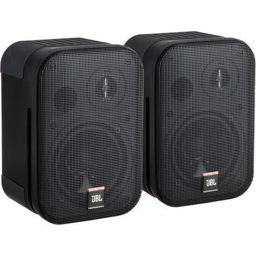 """JBL Control 1 Pro - 5"""" Two-Way Professional Compact Loudspeaker (Pair, Black) price in india features reviews specs"""