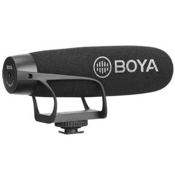 buy BOYA BY-2021 Cardioid Shotgun Video Microphone for Smartphone & Camera Video/Audio Recording Online in india