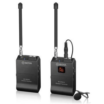 buy BOYA BY-WFM12 VHF Wireless Microphone System for Smartphone, Tablet, DSLR, Camcorder, Audio Recorder and PC Online in india