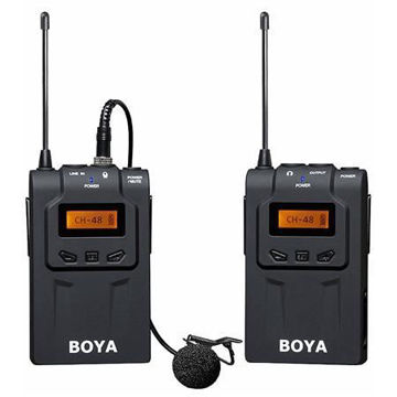 buy BOYA BY-WM6 Omni-Directional Wireless Lavalier Microphone System for DSLR Cameras & Camcorders Online in india