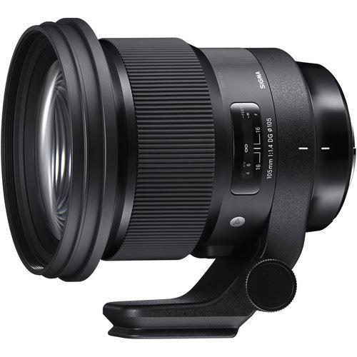 buy Sigma 105mm f/1.4 DG HSM Art Lens for Nikon F in India imastudent.com