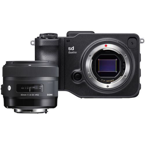 buy Sigma sd Quattro Mirrorless Digital Camera with 30mm f/1.4 Art Lens Kit in India imastudent.com