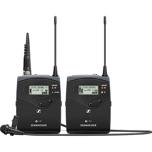 buy Sennheiser EW 112P G4 Camera-Mount Wireless Omni Lavalier Microphone System in India imastudent.com