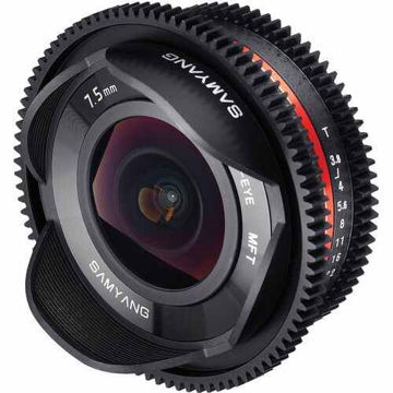 Samyang 7.5mm T3.8 Cine UMC Fisheye Lens for Micro Four Thirds Mount in India imastudent.com