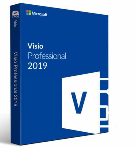 Microsoft Visio 2019 Professional 1PC Activation Key