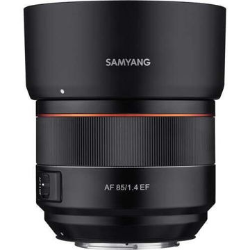 Samyang AF 85mm f/1.4 EF Lens for Canon EF in India imastudent.com