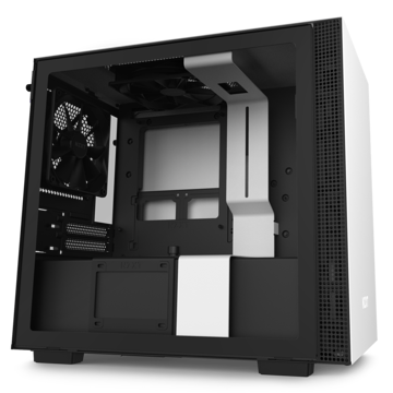 NZXT H210 CPU Cabinet - CA-H210B-W1 price in india features reviews specs
