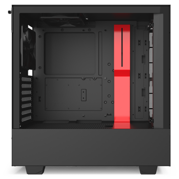 NZXT H510B Compact Mid-Tower Case with Tempered Glass - CA-H510B-BR price in india features reviews specs