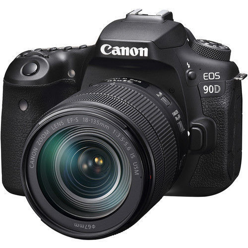 buy Canon EOS 90D DSLR Camera with 18-135mm Lens in India imastudent.com