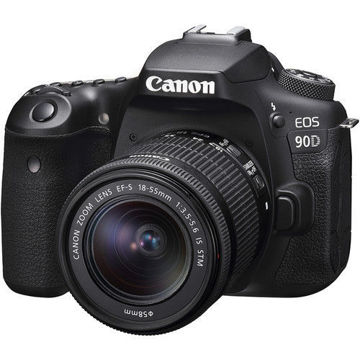 buy Canon EOS 90D DSLR Camera with 18-55mm Lens in India imastudent.com