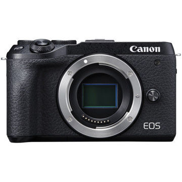 buy Canon EOS M6 Mark II Mirrorless Digital Camera (Black, Body Only) in India imastudent.com