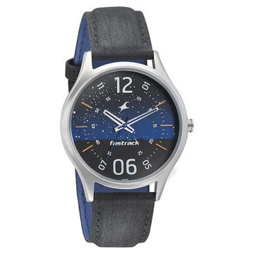 Fastrack HORIZON - SPACE EDITION WATCH -3184SL03 price in india features reviews specs