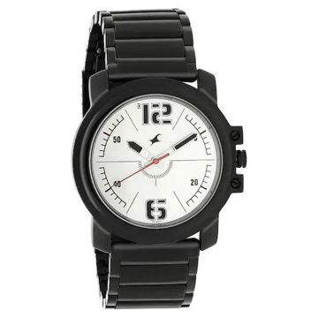 Fastrack SILVER DIAL ANALOG WATCH - 3039NM01 price in india features reviews specs