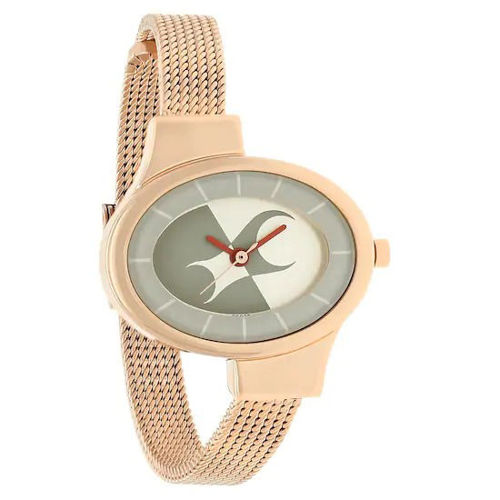 Fastrack SILVER DIAL STAINLESS STEEL STRAP WATCH 6015WM01 price in india features reviews specs
