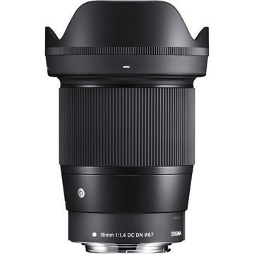 buy Sigma 16mm f/1.4 DC DN Contemporary Lens for Canon EF-M in India imastudent.com