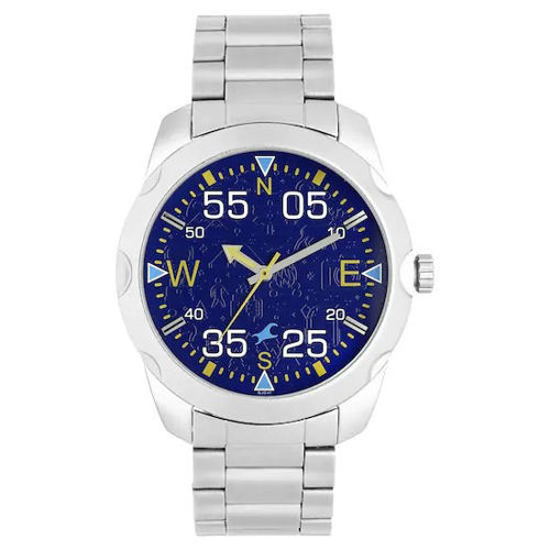 Fastrack ROAD TRIP PURPLE DIAL STAINLESS STEEL STRAP WATCH - 3123SM06 price in india features reviews specs