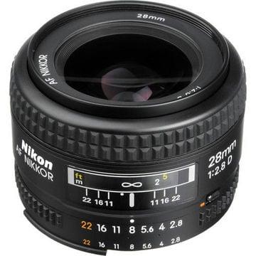 buy Nikon AF NIKKOR 28mm f/2.8D Lens in India imastudent.com