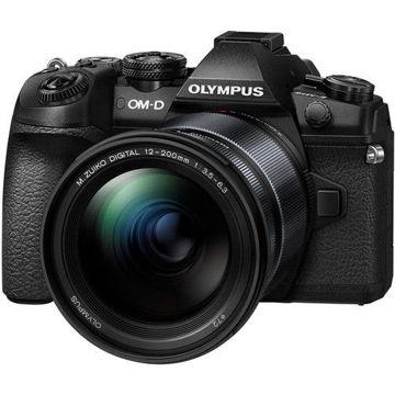 buy Olympus OM-D E-M1 Mark II Mirrorless Micro Four Thirds Digital Camera with 12-200mm Lens Kit in India imastudent.com