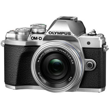 Olympus OM-D E-M10 Mark III Mirrorless Micro Four Thirds Digital Camera with 14-42mm EZ Lens (Black) price in india features reviews specs