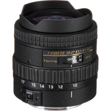 buy Tokina 10-17mm f/3.5-4.5 AT-X 107 DX AF Fisheye Lens for Canon in India imastudent.com