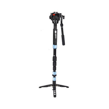 buy Sirui P-204S 4-Section Aluminium Photo/Video Monopod with VH-10 Head in India imastudent.com