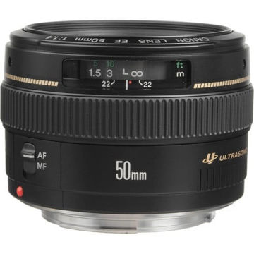 buy Canon EF 50mm f/1.4 USM Lens in India imastudent.com