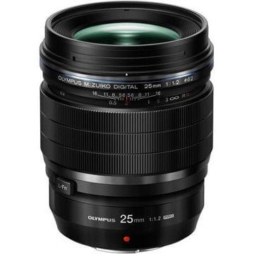 Buy Olympus M.Zuiko Digital ED 25mm f/1.2 PRO Lens in India imastudent.com