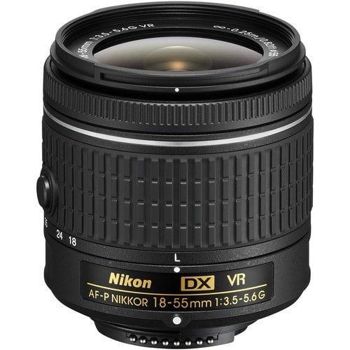 buy Nikon AF-P DX NIKKOR 18-55mm f/3.5-5.6G VR Lens in India imastudent.com