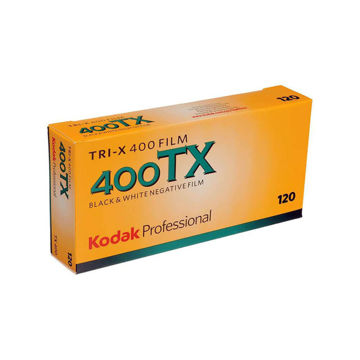 Kodak Professional Tri-X 400 Black and White Negative Film (120 Roll Film, 5-Pack) price in india features reviews specs