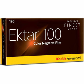 Kodak Professional Ektar 100 Color Negative Film (120 Roll Film, 5-Pack) price in india features reviews specs