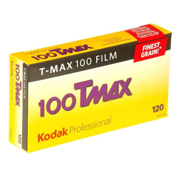 buy Kodak Professional T-Max 100 Black and White Negative Film (120 Roll Film, 5-Pack) in India imastudent.com