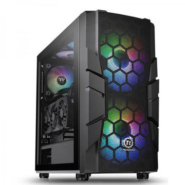 Thermaltake Commander C33 TG ARGB (Black) -  CA-1N4-00M1WN-00 price in india features reviews specs