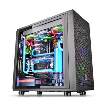 Thermaltake CORE X31 Tempered Glass (Black) - CA-1E9-00M1WN-03 price in india features reviews specs